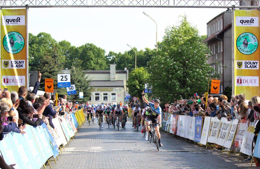 Johim Ariesen wint 1e etappe Bałtyk Karkonosze Tour
