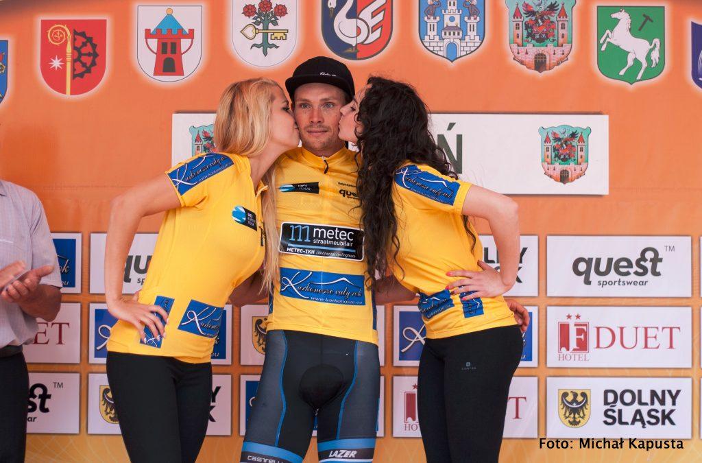 Johim in geel 4e etappe Bałtyk Karkonosze Tour
