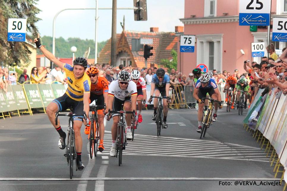 Johim wint 4e etappe Bałtyk Karkonosze Tour