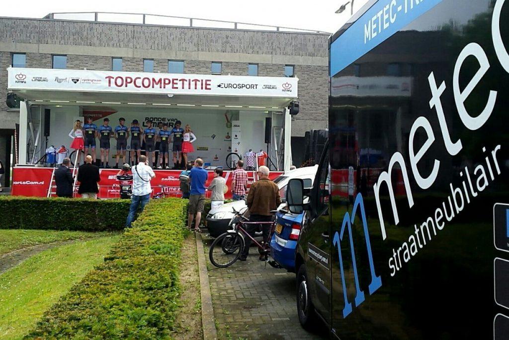 Metec-TKH presentatie Ronde van Limburg
