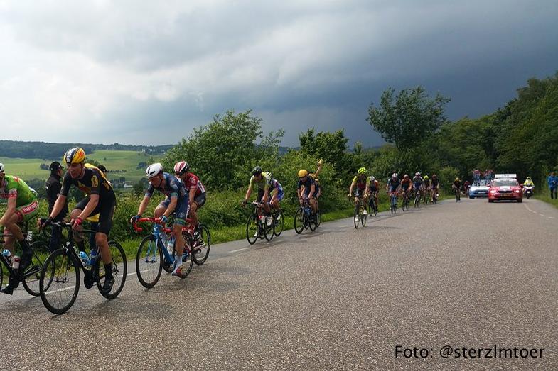 Peloton tweede etappe Ster ZLM Toer