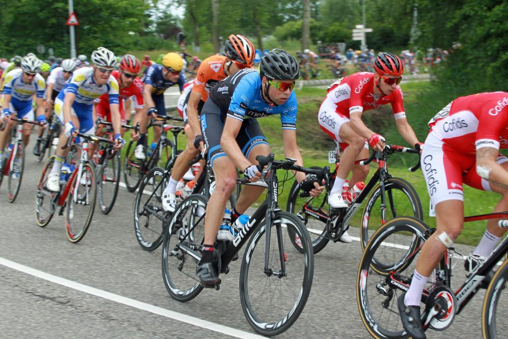 Peloton 4e etappe Ster ZLM Toer