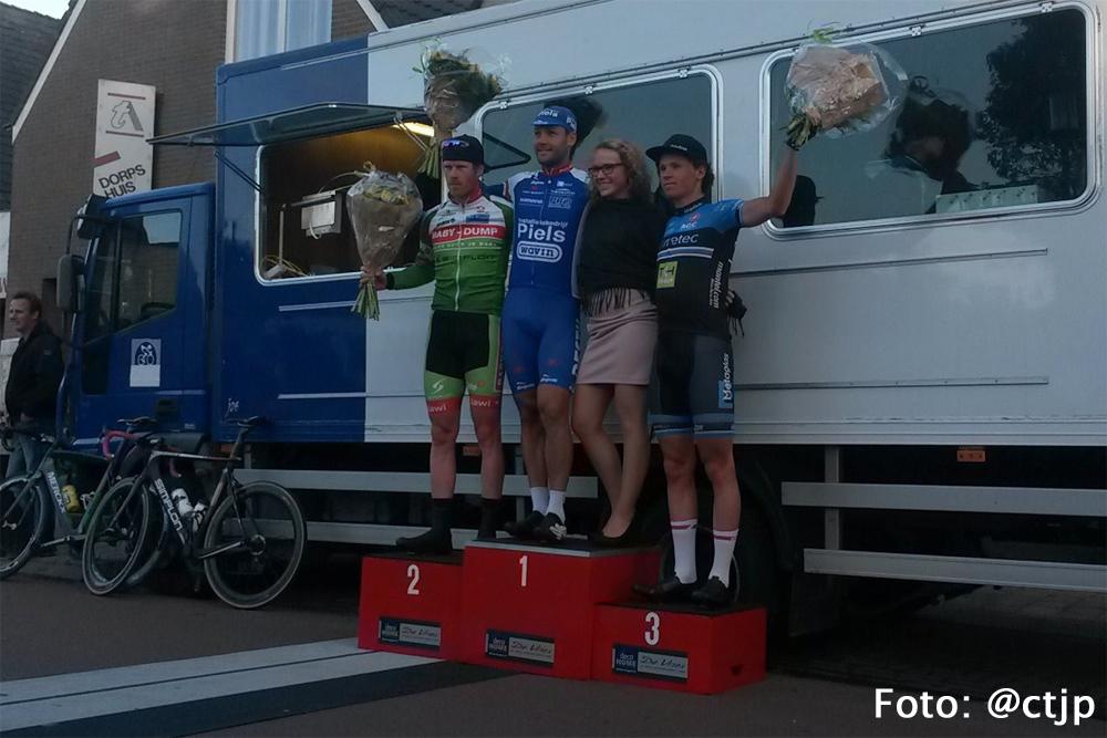 Jarno Gmelich Meijling 3e in Omloop van Ternaard