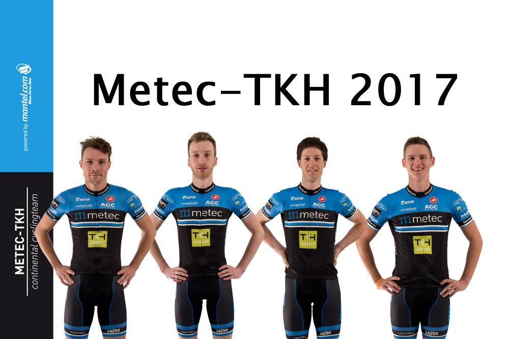 Kwartet renners tekent voor 2017
