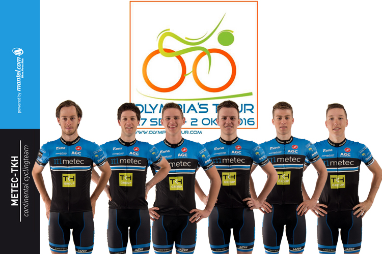 Opstelling voor Olympia's Tour