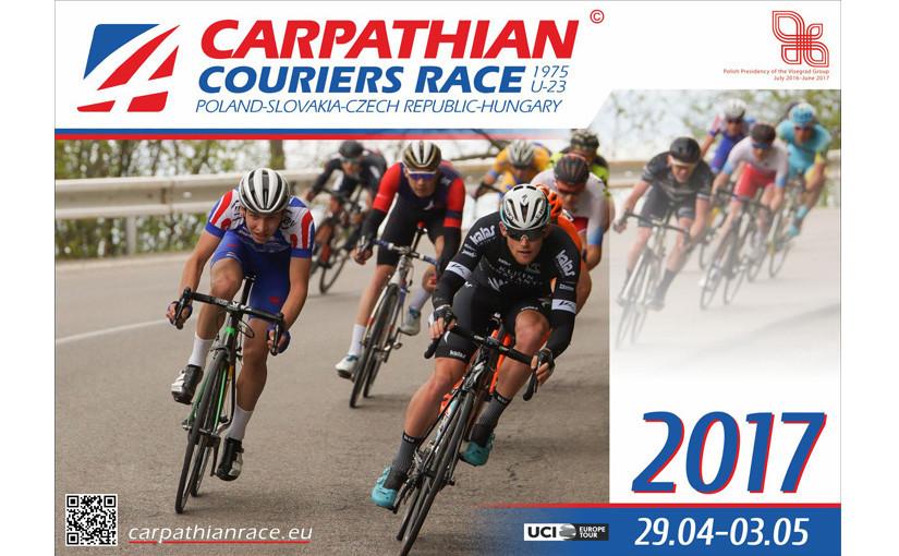 Beloftenploeg naar Carpathian Couriers Race