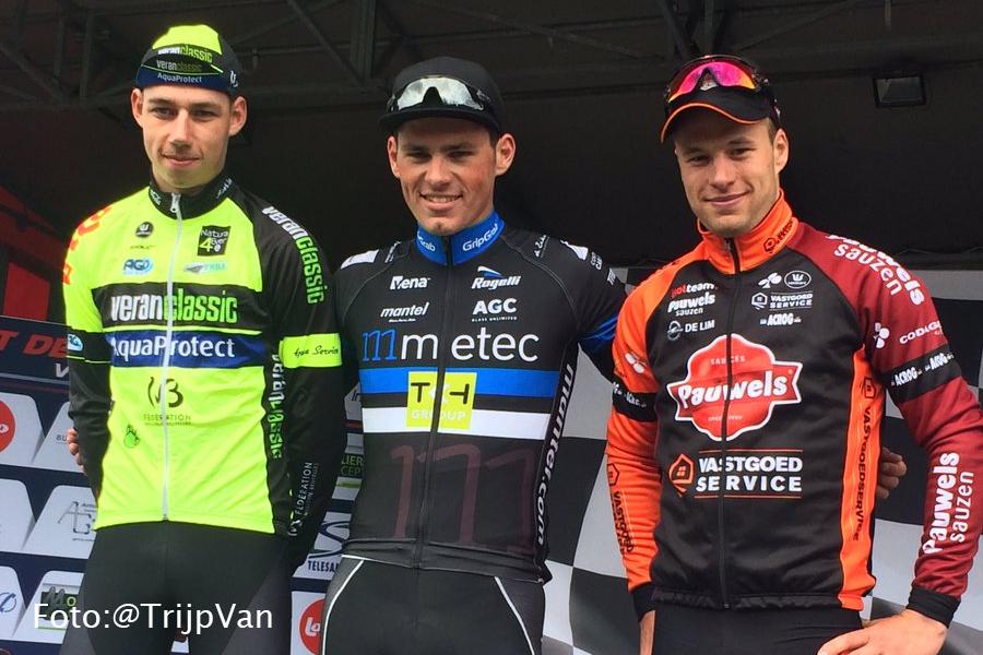 Maarten van Trijp wint in Wallonië