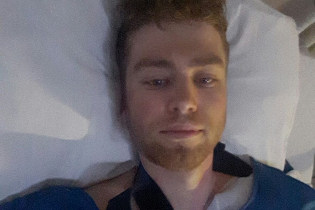 Robbie van Bakel na val naar ziekenhuis