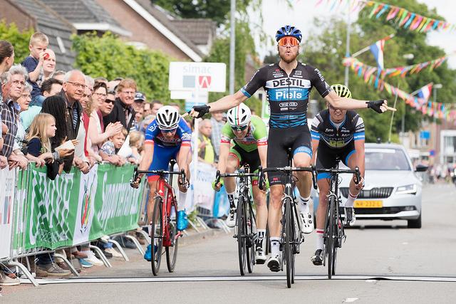 Dylan Bouwmans tweede in Veldhoven