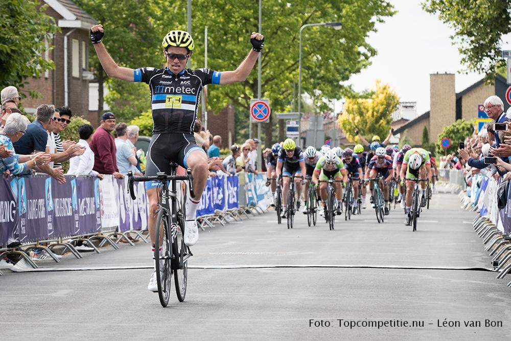 Jarno Gmelich Meijling wint Ronde van Limburg