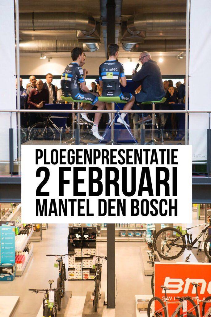 Ploegenpresentatie bij Mantel Den Bosch