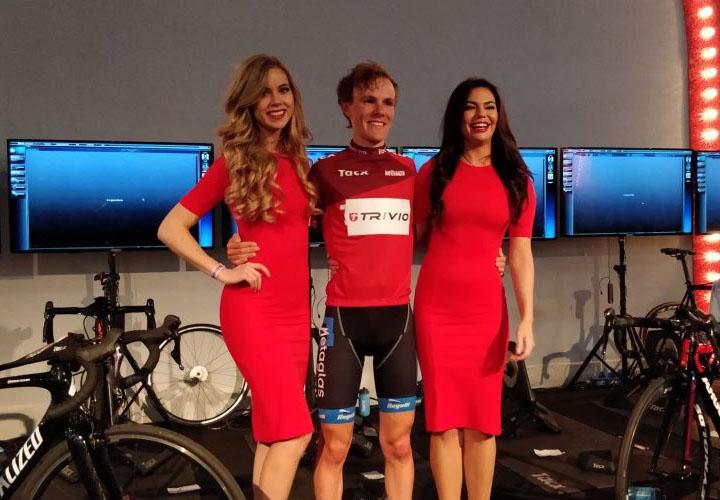 Thijs de Lange eerste leider Wattmeister Challenge