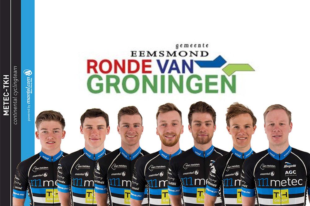 Opstelling Ronde van Groningen