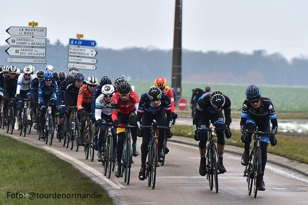 Johim Ariesen zevende in tweede etappe Normandie
