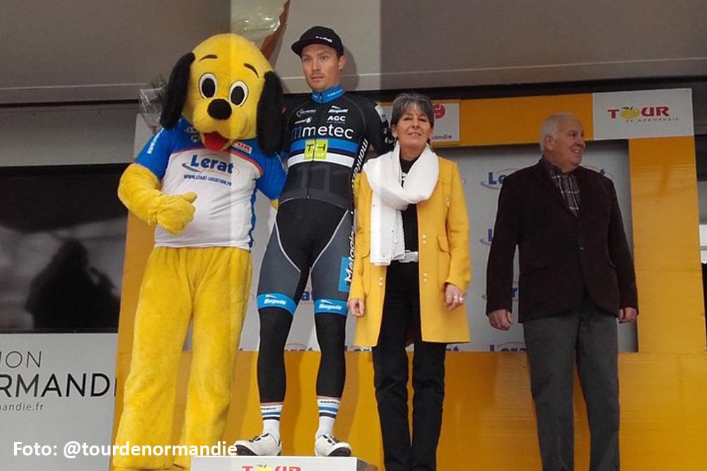 Johim Ariesen wint derde etappe Normandië