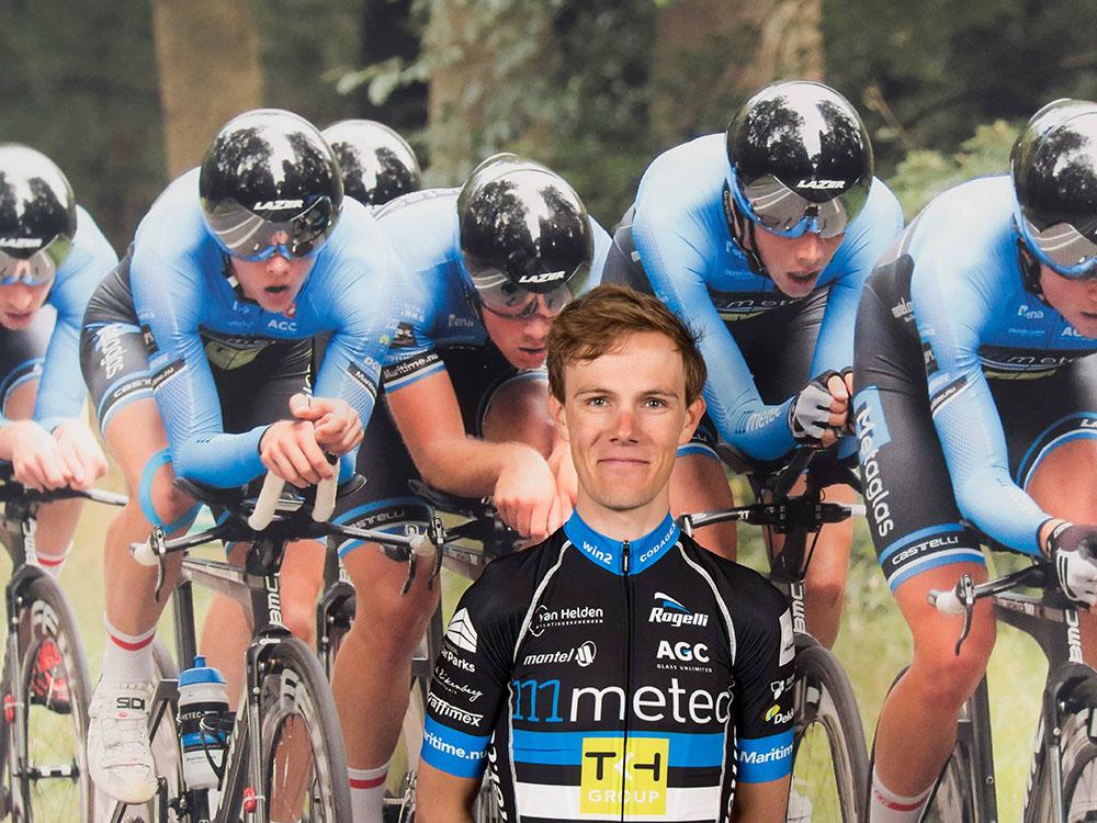 Thijs de Lange opent seizoen 2018 op BikeMotion