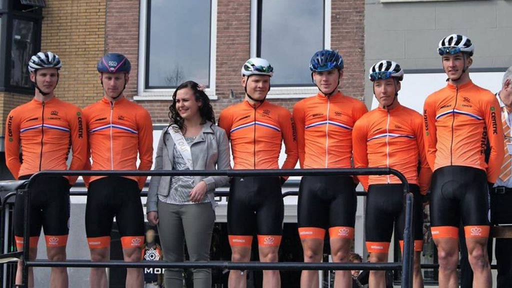 Geen wind, dus massasprint in ZLM Tour