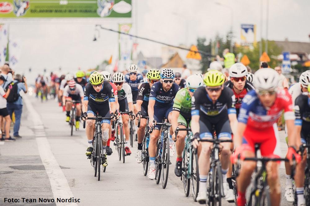 Chaotische sprint in Polen