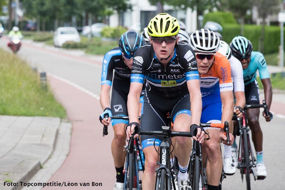 Lars van den Berg toont zich bij rentree