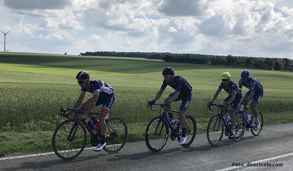 Danny van der Tuuk kleurt etappe l'Oise