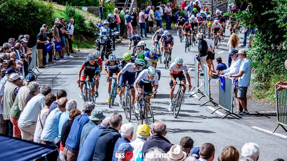Lars van den Berg 4e in Frankrijk