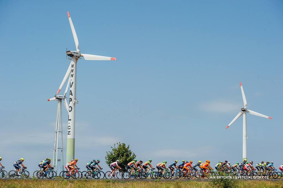 Danny van der Tuuk kleurt laatste etappe Tsjechië