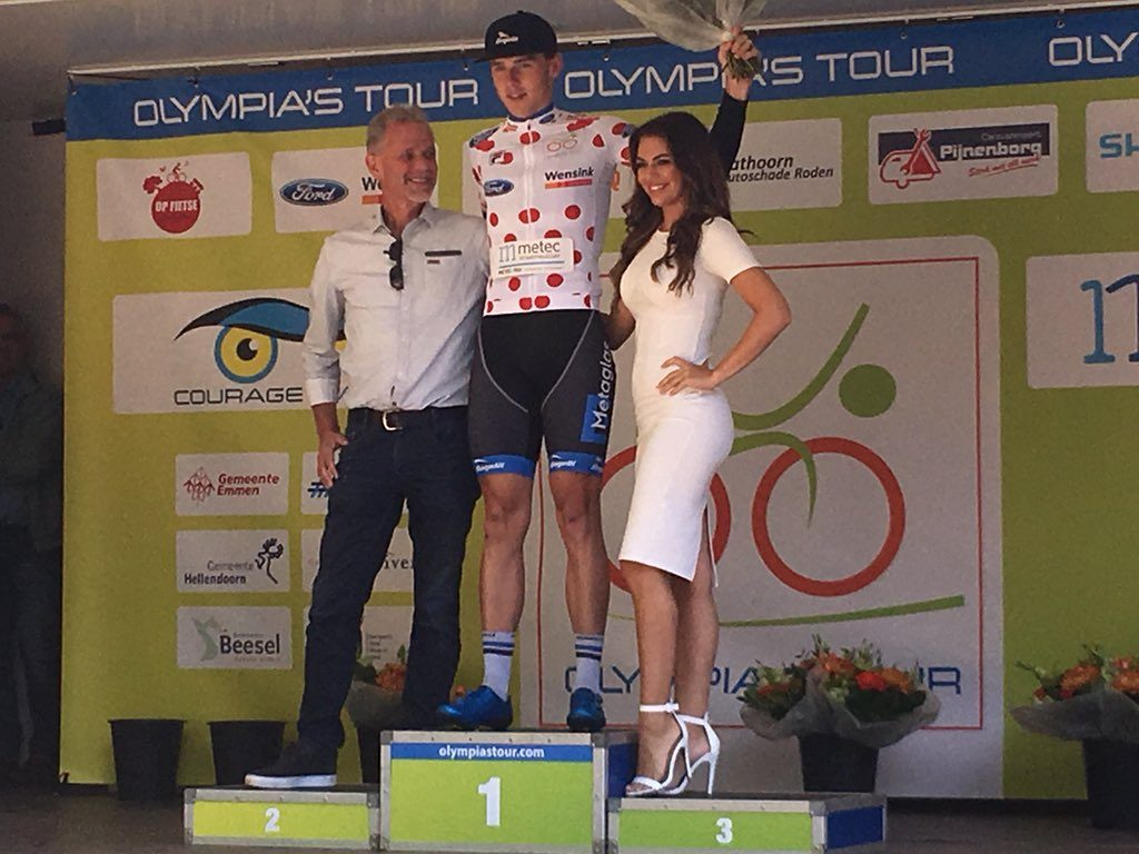 David Dekker wint bergtrui, Dennis van der Horst vierde in de rit