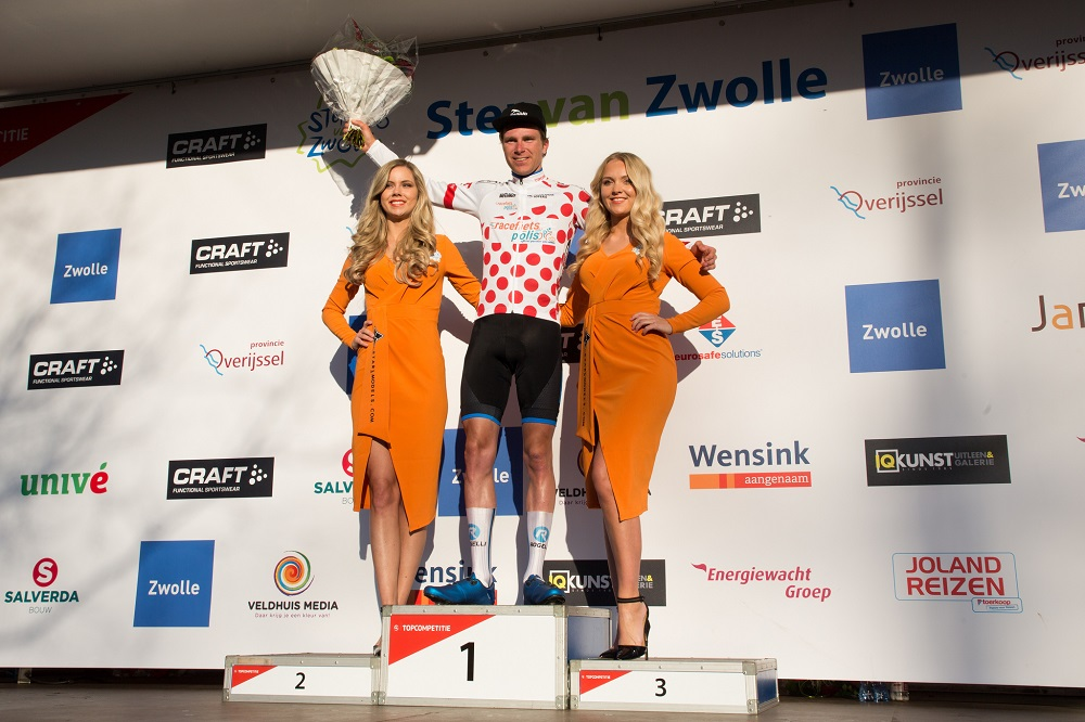 Dennis van der Horst pakt bolletjestrui Topcompetitie