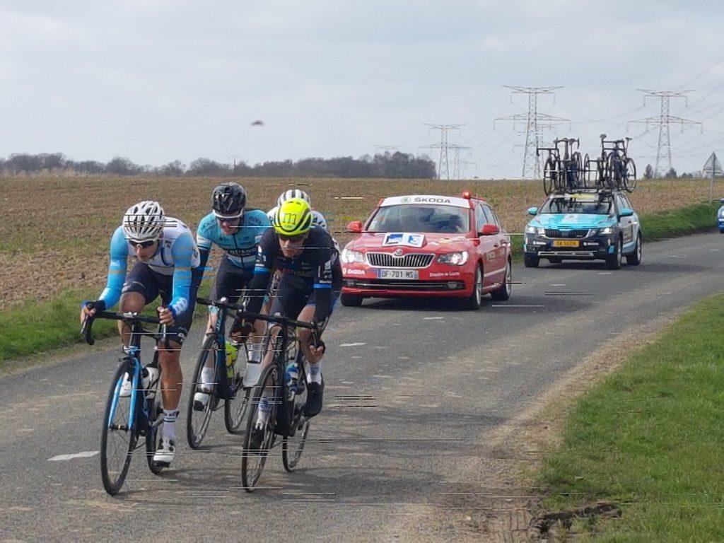 Stef Krul kleurt tweede etappe Normandië