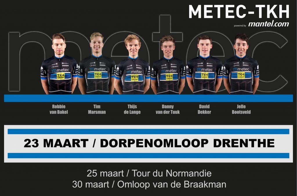 Opstelling Dorpenomloop Drenthe