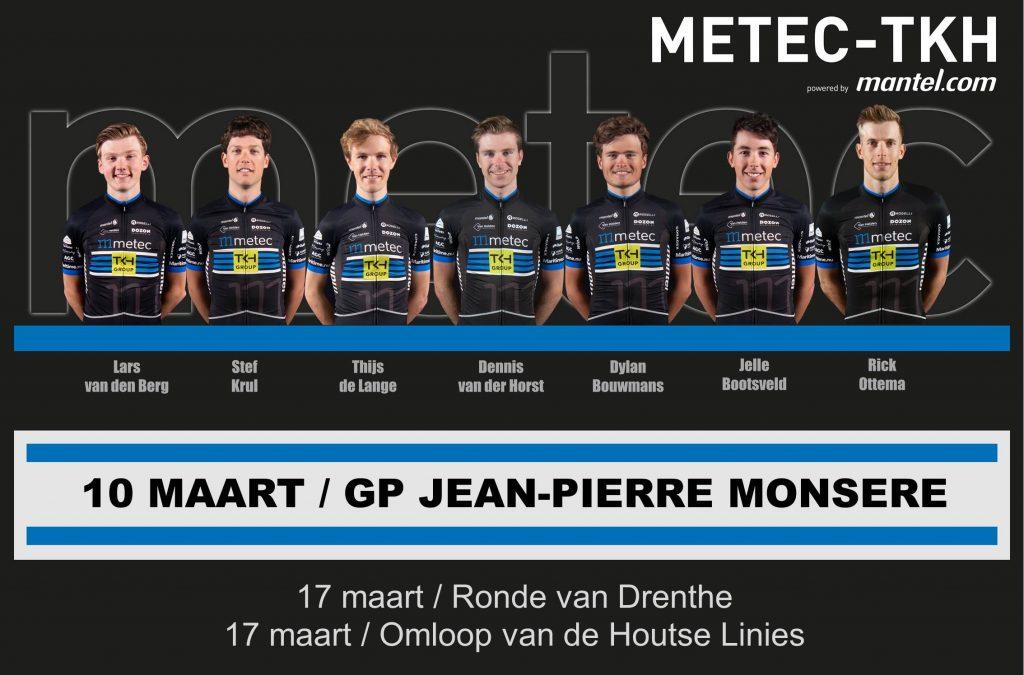 Opstelling GP Jean-Pierre Monsere