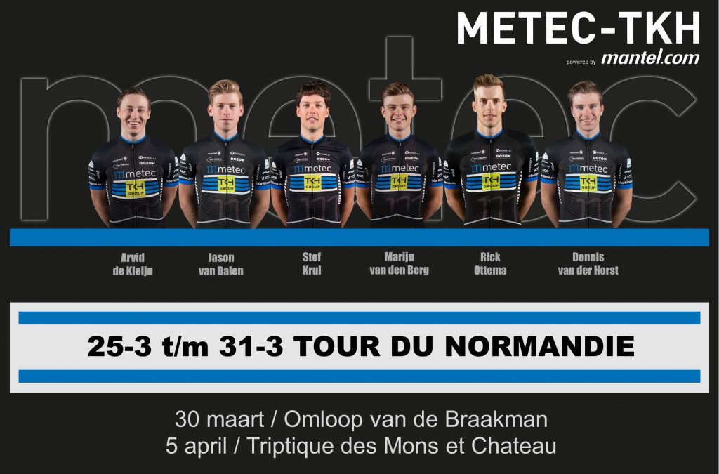 Opstelling Tour de Normadie