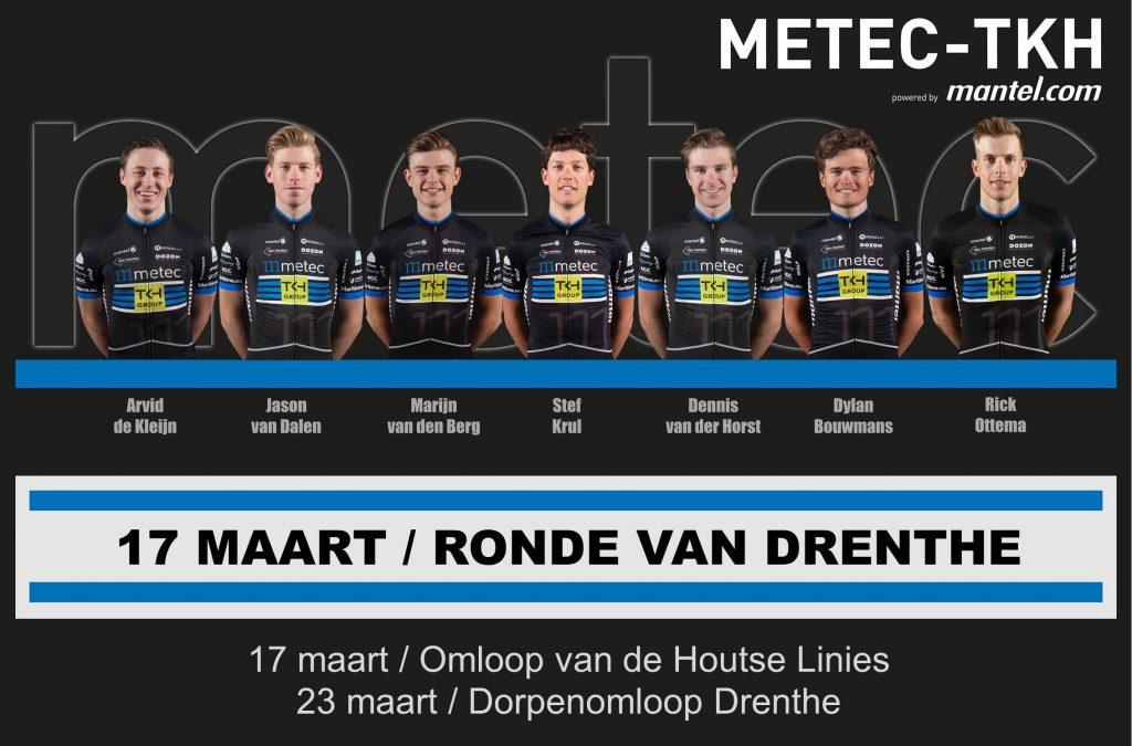 Opstelling Ronde van Drenthe