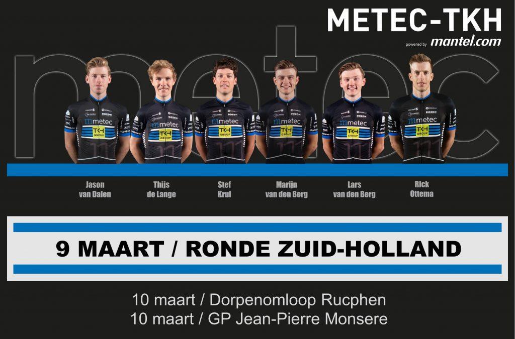 Opstelling Ronde van Zuid-Holland