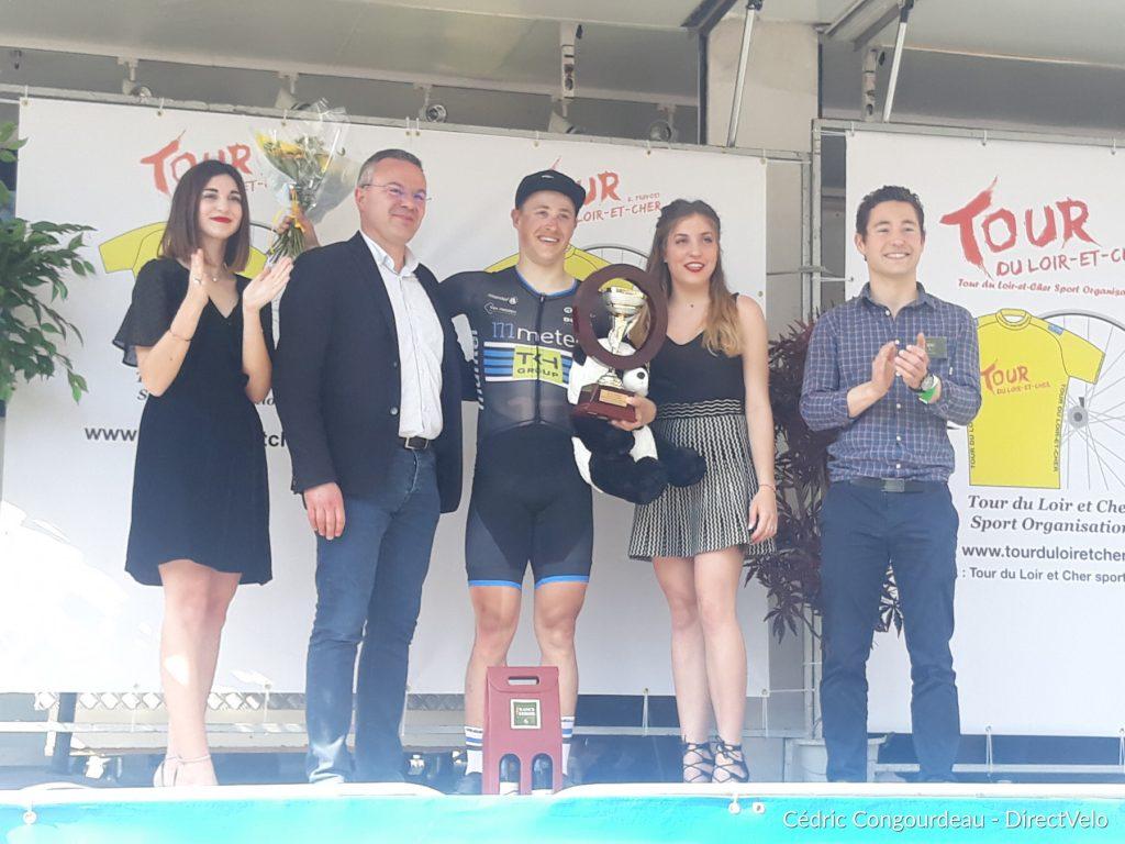 Arvid de Kleijn wint derde etappe Loir-et-Cher