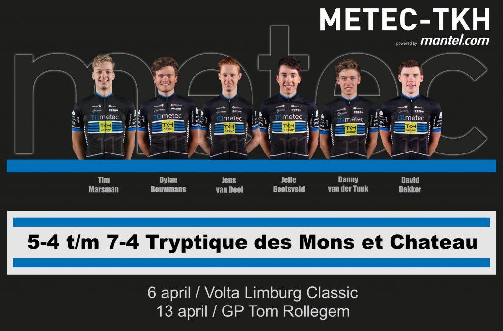 Lastige dag Tryptique des Monts et Châteaux