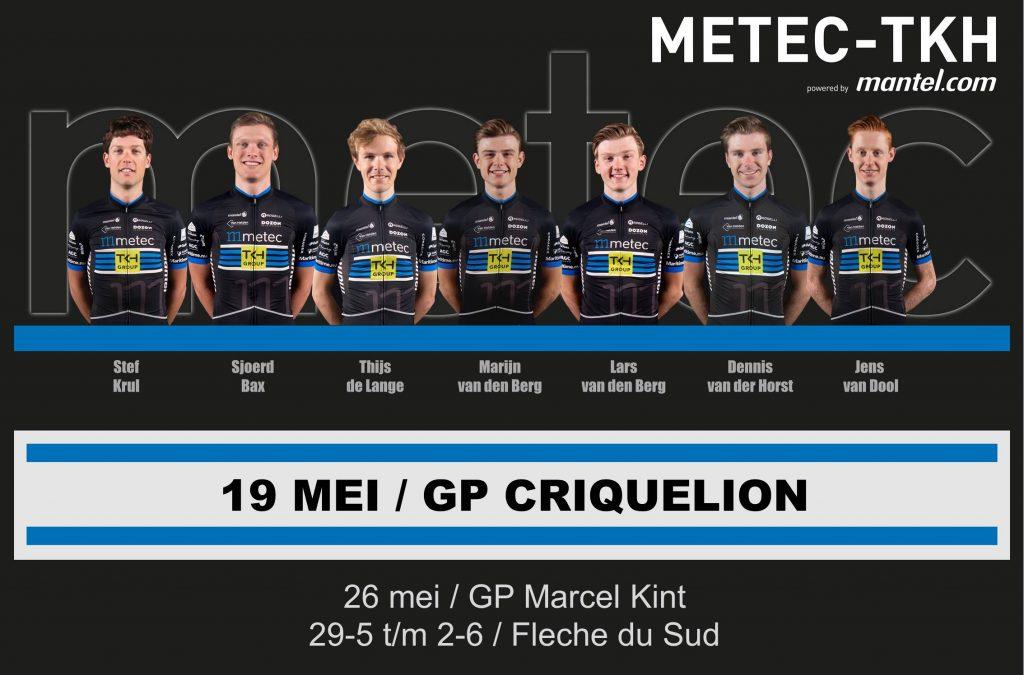 Opstelling GP Criquelion