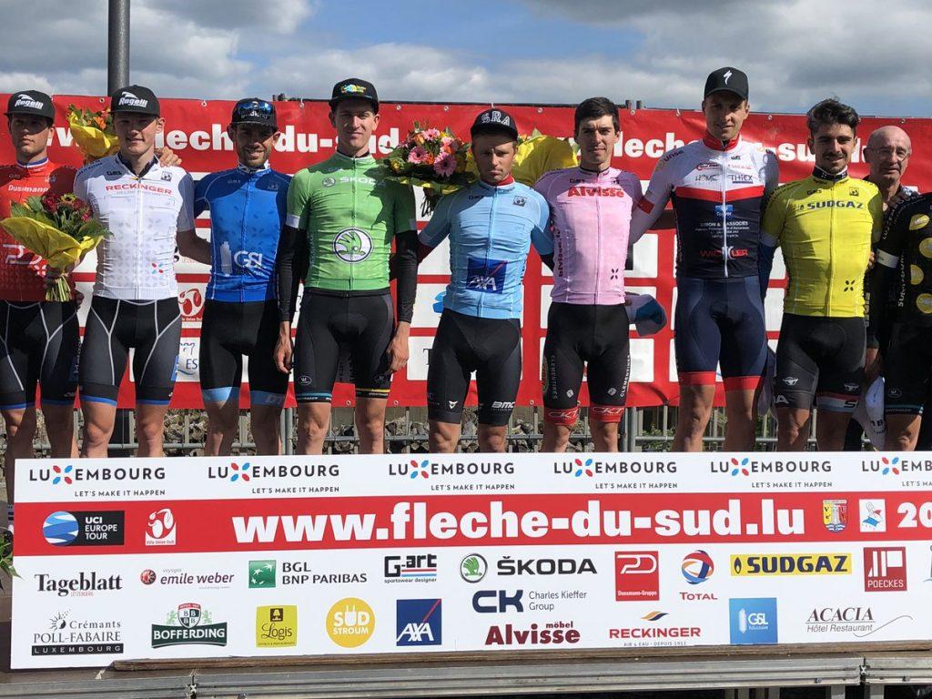 Sjoerd Bax zesde in Luxemburg