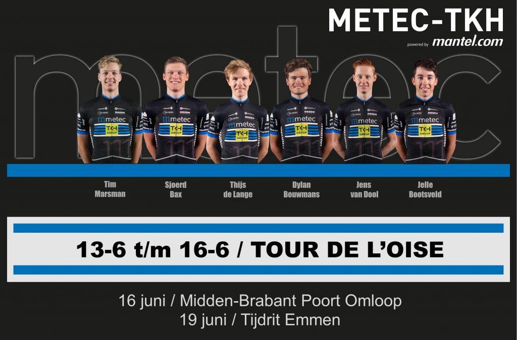 Opstelling Tour du L'Oise
