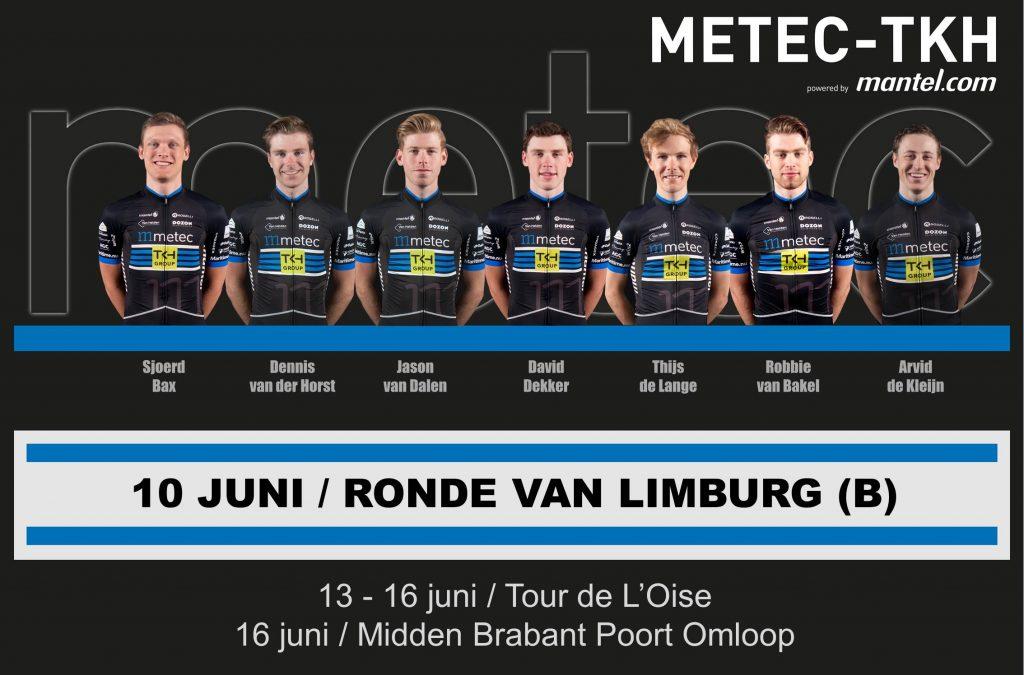 Opstelling Ronde van Limburg