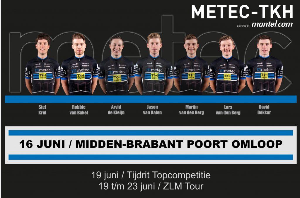 Opstelling Midden-Brabant Poort Omloop
