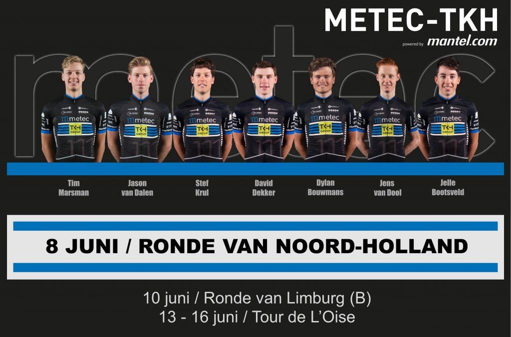 Opstelling Ronde van Noord Holland