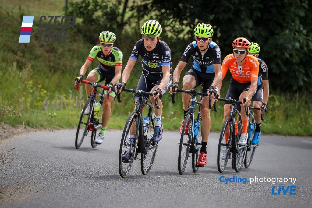 Danny van der Tuuk kleurt etappe in Tsjechië
