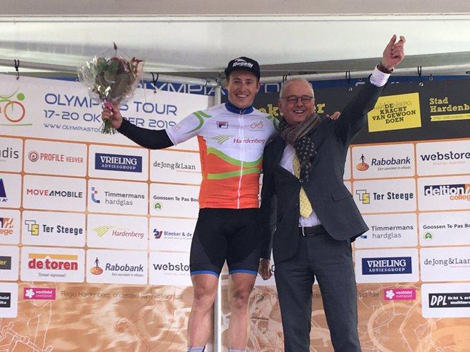 Arvid de Kleijn wint in Hardenberg