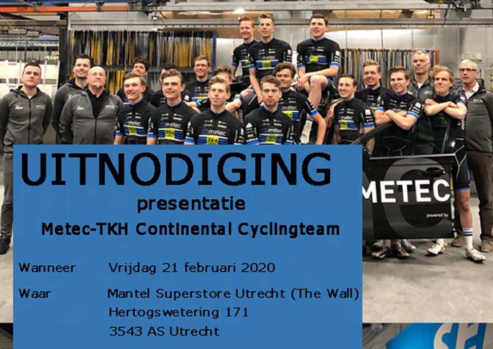 Ploegvoorstelling Mantel Utrecht op 21 februari