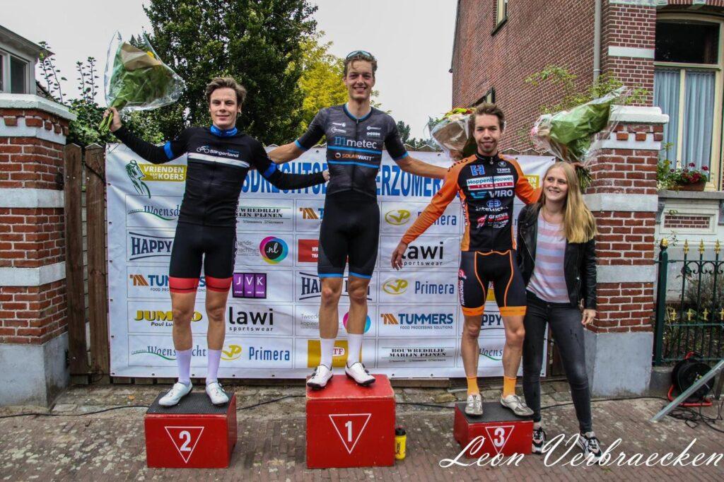 Tim Marsman wint in Huijbergen